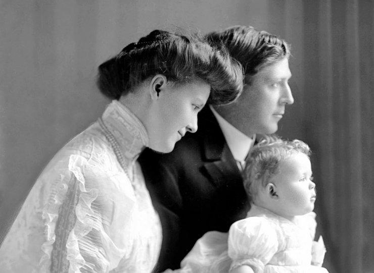 Rodiče s potomkem. - klikněte pro zobrazení detailu